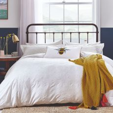 Joules Botanical Bee Super King Size Duvet Cover