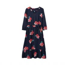 Joules Chloe Fixed Navy Wrap Dress
