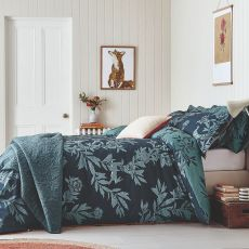 Joules Country Critters Navy Single Size Duvet Cover
