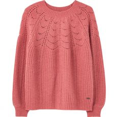 Joules Jenna Knitted Pink Jumper