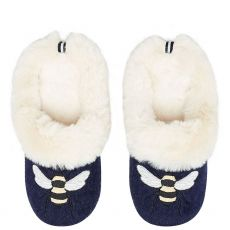 Joules Luxe Slip On Bee Slippers