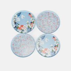 Joules Ashwick Outdoor Dining Set of 4 Dinner Plates