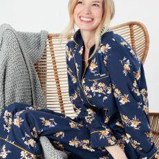 Joules Sleeptight Light Pyjama Set Navy