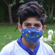 Kids Superhero Face Mask