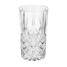 Killarney Crystal Trinity Set of 6 Hi Ball Glasses