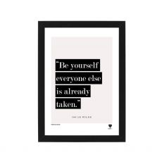 Lainey K Be Yourself Framed Print