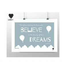 Lainey K Believe Dreams Print