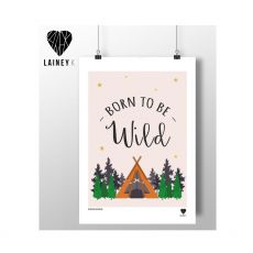 Lainey K Born To Be Wild Print