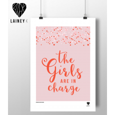 Lainey K The Girls Are In Charge Print