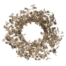 Large Champagne Door Wreath