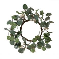 Large Eucalyptus Candle Ring