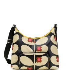 Orla Kiely Large Shoulder Bag Wild Rose Stem