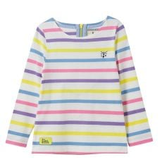 Little Lighthouse Causeway Multi Stripe Top