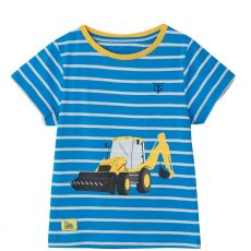 Little Lighthouse Mason Digger Print T-Shirt