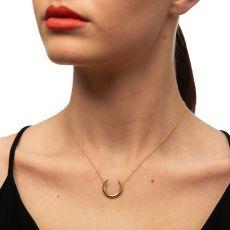 Loinnir Jewellery Torc Gold Necklace Model