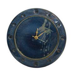 Louis Mulcahy Boxed 607A Clock Navy