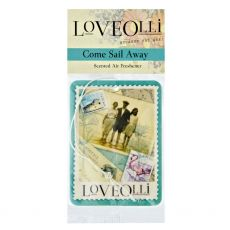 LoveOlli Come Sail Away Car Freshener