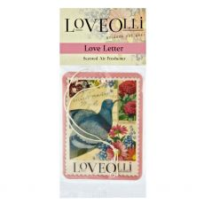 LoveOlli Love Letter Car Freshener