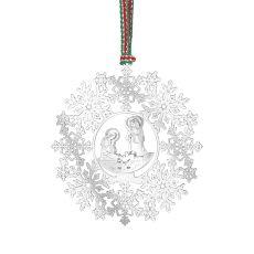 Newbridge Snowflake with Nativity Decoration
