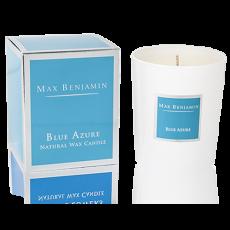 Max Benjamin Blue Azure Candle