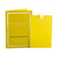 Max Benjamin Lemongrass & Ginger Scented Card