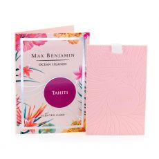 Max Benjamin Ocean Islands Tahiti Scented Card