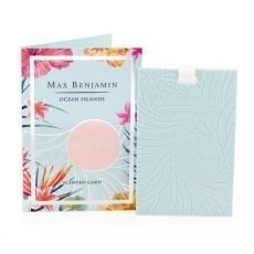 Max Benjamin Ocean Islands Bora Bora Scented Card