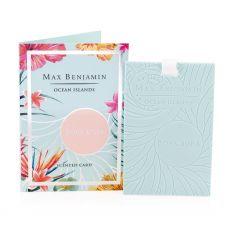 Max Benjamin Ocean Islands Bora Bora Scented Card
