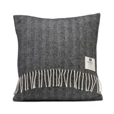 McNutt of Donegal Herringbone Storm Cushion front