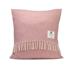 McNutt of Donegal Supersoft Paris Pink Cushion