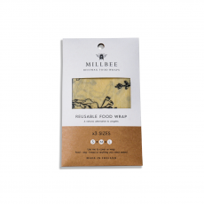 Millbee Beeswax Food Wrap Pack of 3