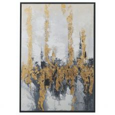 Mindy Brownes Forest Flame Framed Canvas