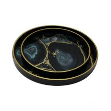 Mindy Brownes Midnight Glory Set of 2 Serving Tray