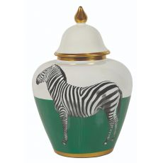 Mindy Brownes Small Zebra Jar