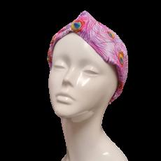 Montgomery Pink Peacock Hairband
