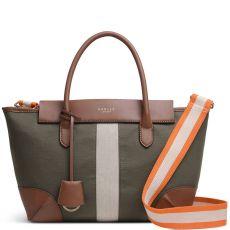 Radley Morris Road Medium Ziptop Multiway Bag Khaki