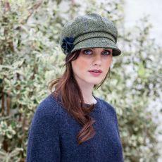 Mucros Weavers Newsboy Ladies Green Hat