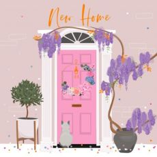 New Home Door Card