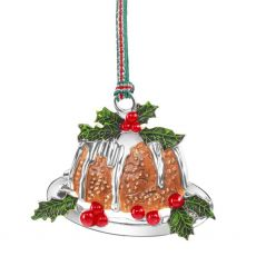 Newbridge Christmas Pudding Hanging Decoration