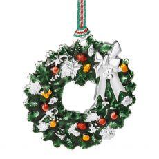 Newbridge Christmas Wreath with Bow Decoration