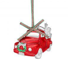Newbridge Red Car Christmas Decoration