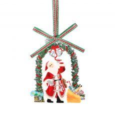 Newbridge Santa with Garland Decoration
