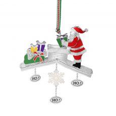 Newbridge Santa on Chimney Decoration