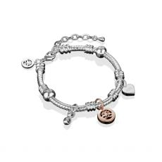 Newbridge Silver Charm Bracelet