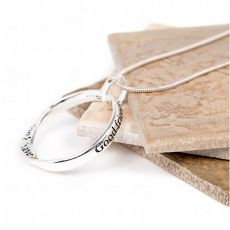 Lovethelinks Angel Silver Necklace
