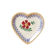 Nicholas Mosse Tiny Heart Plate Old Rose