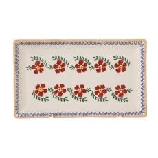 Nicholas Mosse Medium Rectangle Plate Old Rose