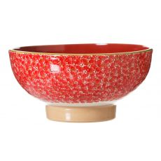 Nicholas Mosse Salad Bowl Lawn Red