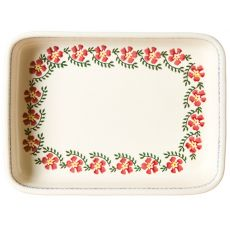 Nicholas Mosse Ovenware Large Rectangular Dish Old Rose