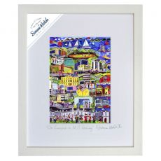 """Simone Walsh Medium Frame 'On Campus in NUI Galway' 11"""" x 14"""""""